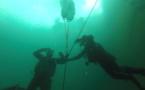 Les pompiers plongeurs
