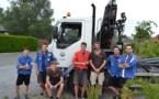 Le Service des Bâtiments roule pour les mouvements de jeunesse !