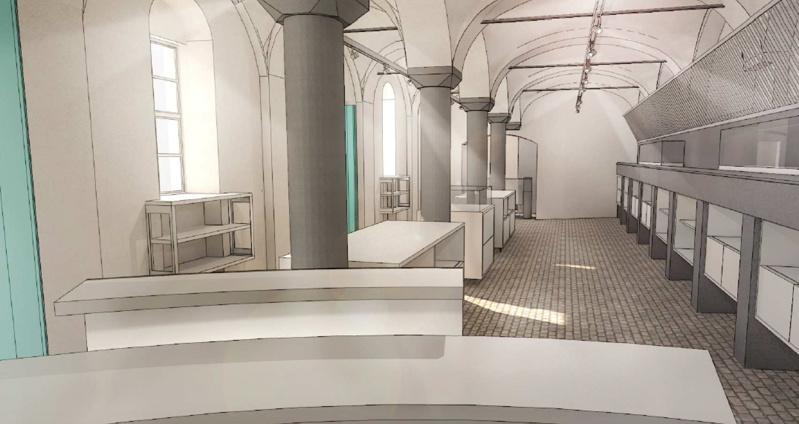 Aménagement du Musée de Croix et de la salle Kegeljan