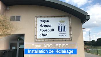 Arquet FC : l'éclairage