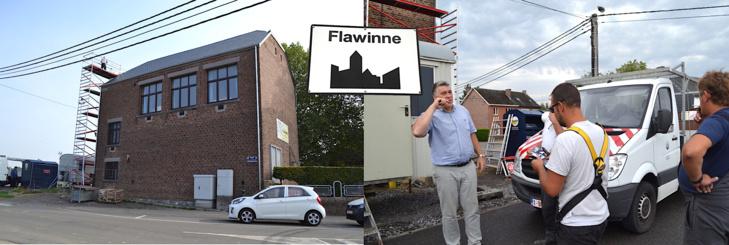 L'école communale de Flawinne