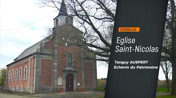 Cognelée : l'église Saint Nicolas restaurée