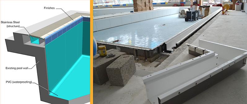 Réouverture de la piscine de Saint-Servais