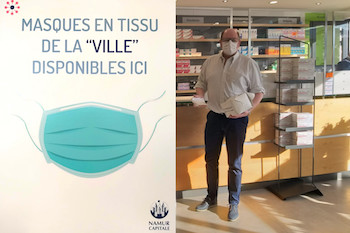 Namur : les masques disponibles en pharmacies