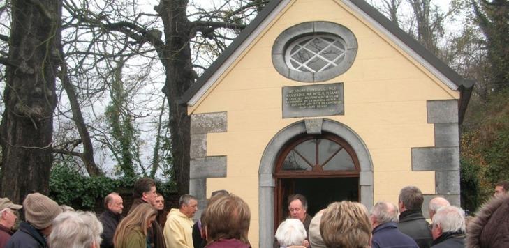 Jambes: restauration de la Chapelle Sainte Barbe