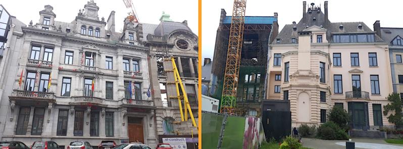 Hotel Kegeljan : rénovation de la toiture