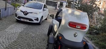 Ville de Namur : les voitures électriques sont arrivées