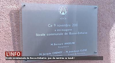 Ecole de Basse-Enhaive : le projet de démolition