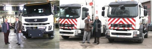 Ville de Namur: nouveaux véhicules pour l'Environnement et les Voiries