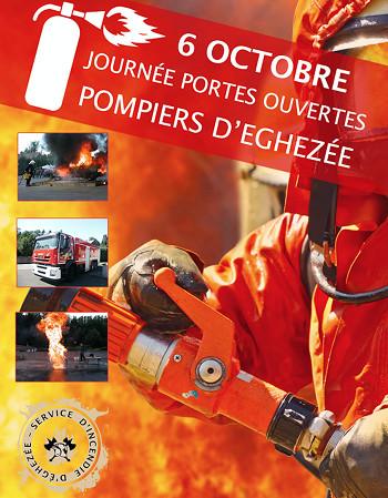 Journée Portes Ouvertes chez les pompiers d'Eghezée