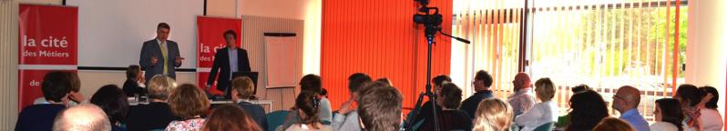 CDM Namur : les conseillers en formation