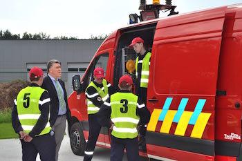 Unique en Wallonie : une Ecole du feu