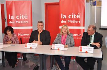 La Cité des Métiers à Namur, enfin !