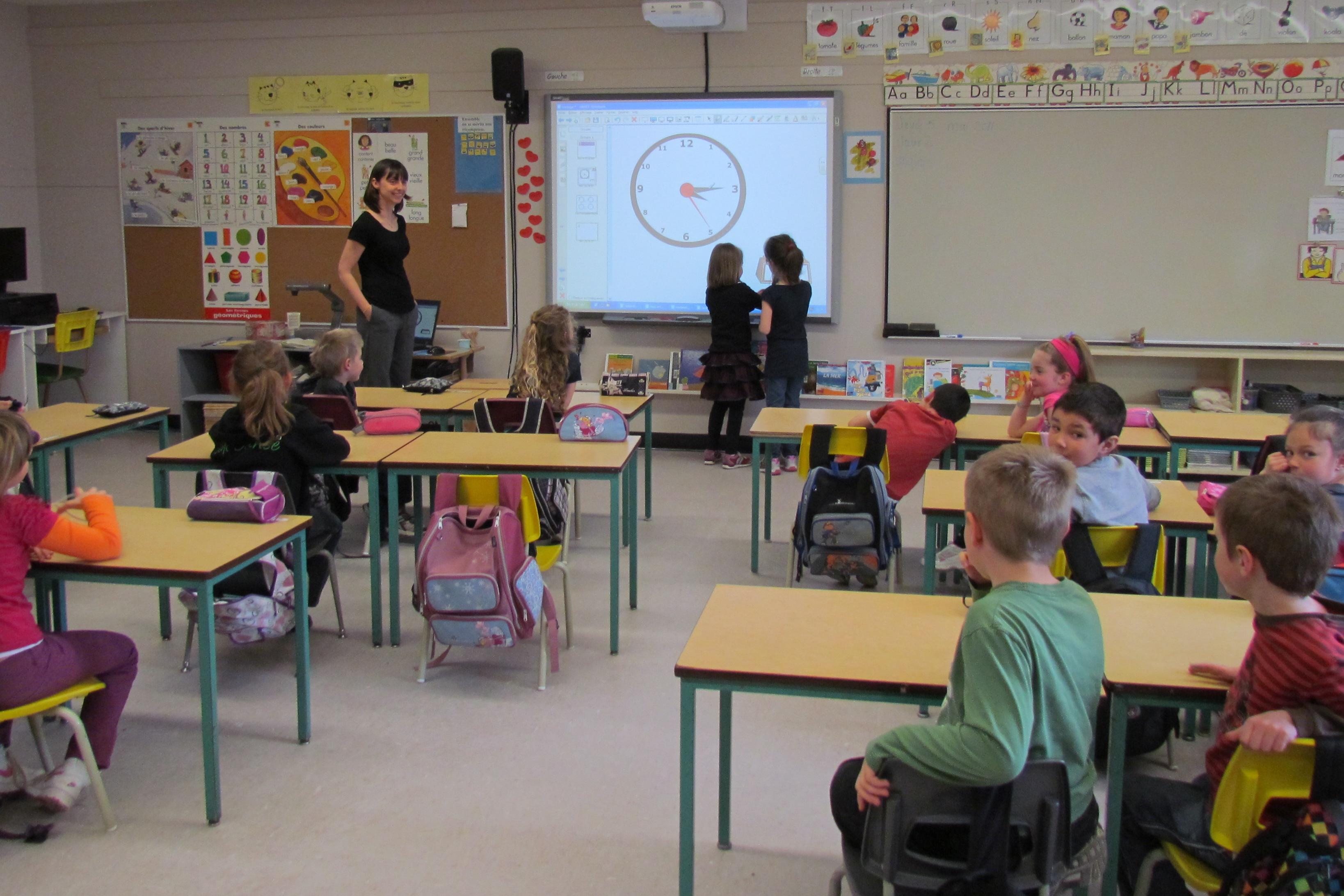 Ecoles communales : des tableaux interactifs