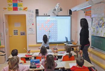 Des tableaux interactifs pour les écoles