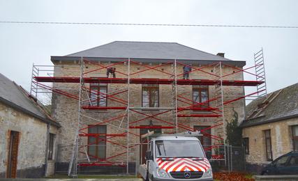 Presbytère de Beez : la rénovation