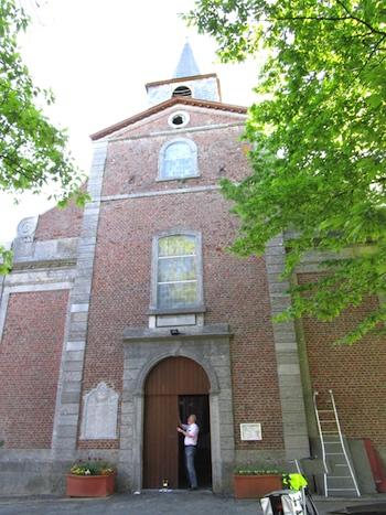 Cognelée : l'église Saint Nicolas
