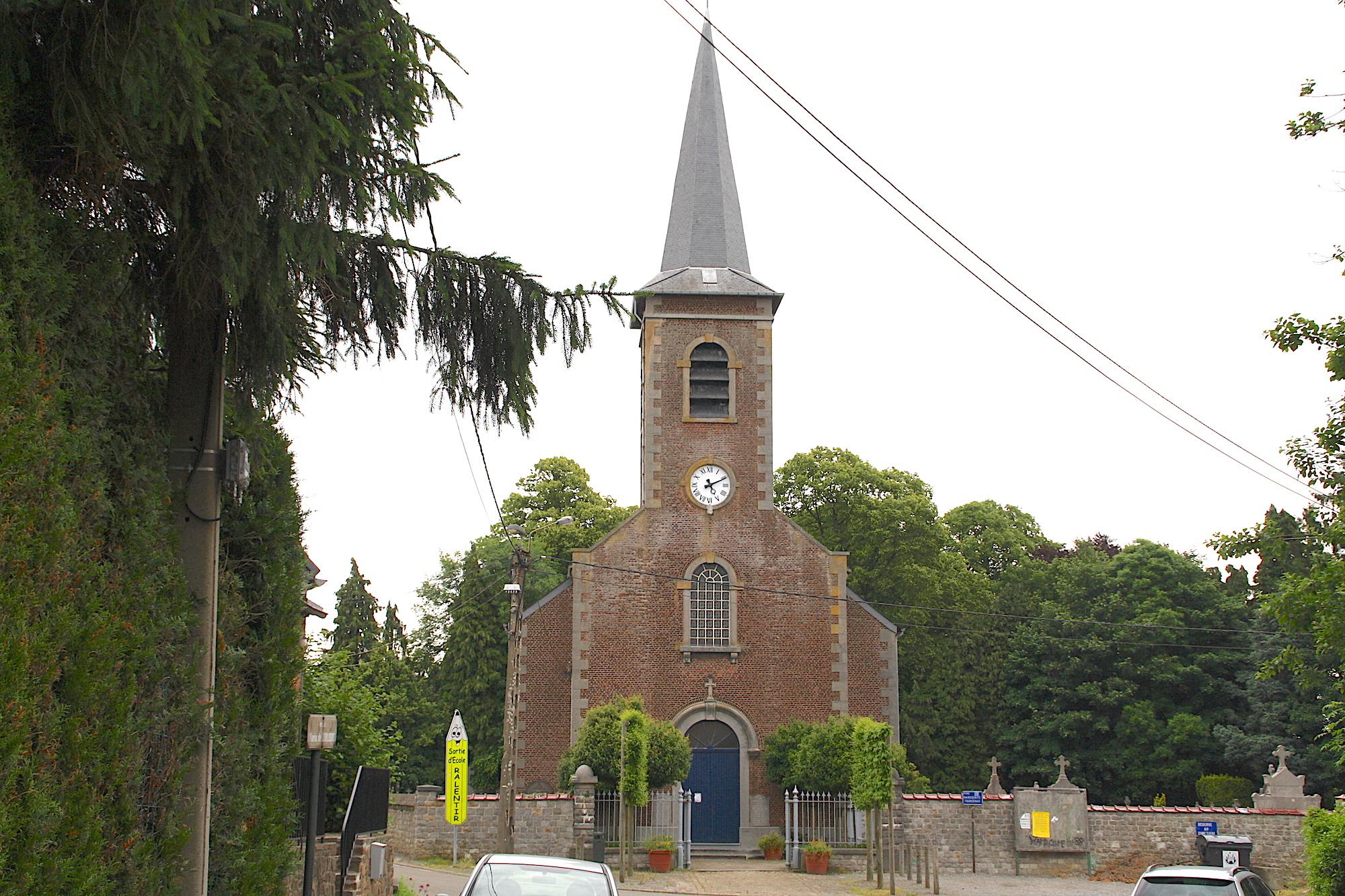 Suarlée : église Saint Materne