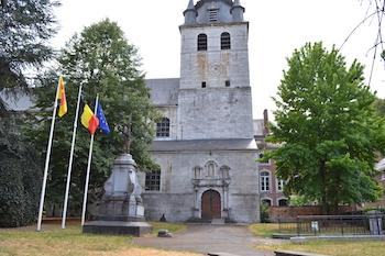 Malonne : l'église Saint Berthuin