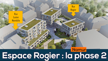 Namur, Espace Rogier : attribution de la phase 2