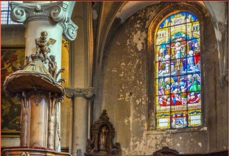 Namur, église Saint-Jean : début des travaux