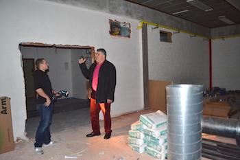 La rénovation de Tabora : le chantier avance bien