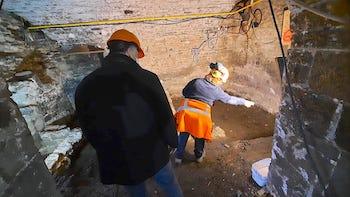 Halle al Chair : fouilles archéologiques