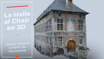 Halle al Chair : mise en valeur des vestiges
