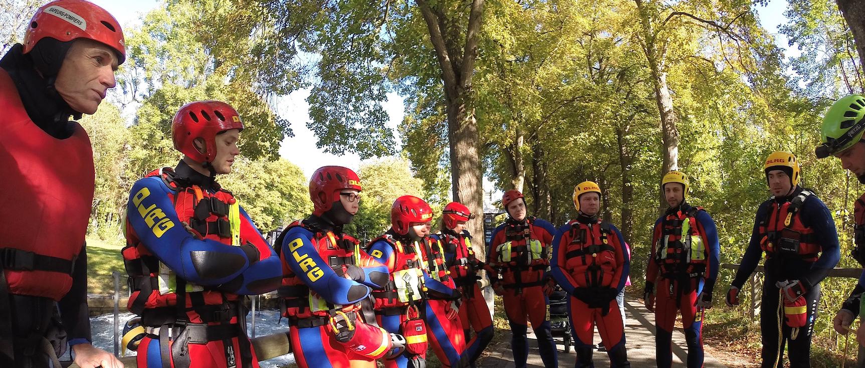 Formation en eau vive pour les pompiers plongeurs