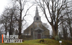 Eglise de Gelbressée, rafraîchie pour Noël
