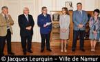 Prestation de serment de Pascal Ligot, le nouveau chef de corps de la Police de Namur