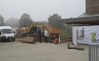 Andoy: le chantier de la nouvelle école sécurisé