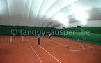 Tennis Club Jambes Amee: une bulle pour 2 terrains