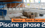 Saint-Servais : phase 2 de la rénovation de la piscine
