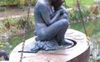 La statue Sambre et Meuse de retour