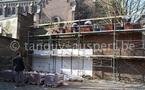Salzinnes, Ecole communale, rue Juppin n°3: le chantier en mars 2011