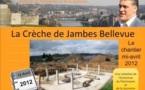 La Crèche de Jambes Bellevue : le chantier à mi-avril 2012