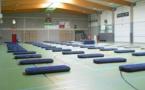 Hall sportif de Jambes Basse-Enhaive : accueil des sans-abris
