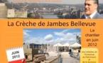 Crèche de Jambes Bellevue: le chantier en juin 2012