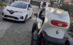 Les nouvelles voitures électriques sont arrivées
