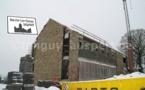 Wartet: le chantier de la nouvelle Ecole Communale