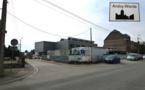 Andoy: l'Ecole Communale, le chantier, Pâques 2013