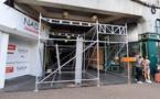 Galerie Werenne : la rénovation a débuté