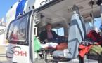 Le transport de patients par hélicoptère :   une autre facette de l'Aide Médicale Urgente des pompiers