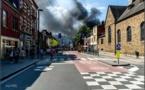 Incendie à Jambes : travail exceptionnel des pompiers