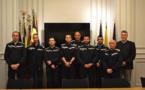 Zone NAGE : prestation de serment pour 7 pompiers professionnels
