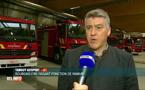 Incendie sous le Pont de Louvain : tout est ok